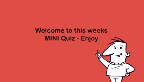 Pay for Mini General Knowledge Quiz - 18th Oct 2015