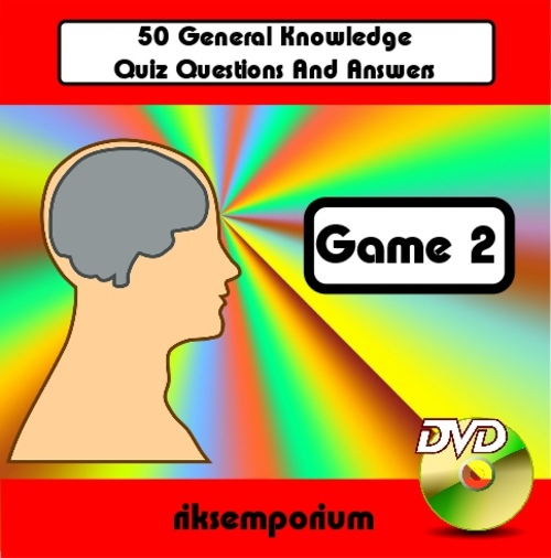 50 Question & Answer Trivia DVD Quiz - Game 2