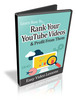Thumbnail Rank Your YouTube Videos -  Find out how to rank your videos