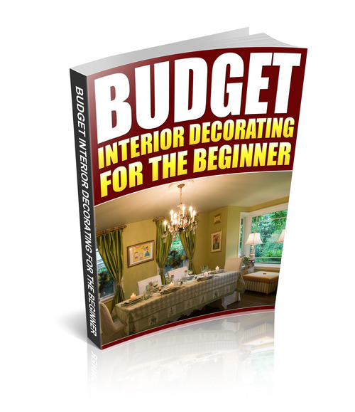 budget interior decorating for the beginner download