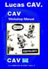 Thumbnail Cav Bryce XX size injector service manual