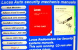 Thumbnail Lucas Radiomobile Car Security systems manuals.