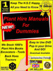 Thumbnail Ryobi power tools parts manuals