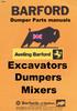Thumbnail Barford Dumper with 40M - 627 & 627M Gear box  1975 - 79