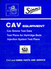 Thumbnail Cav Test Plans for Hartridge test machines