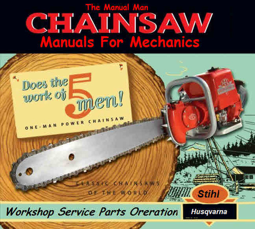Husqvarna Chain Saw 34 & 35 Series