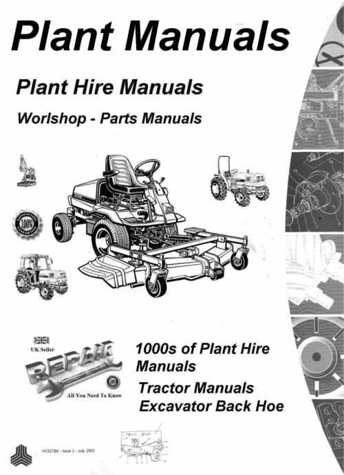 Pay for Benford 4 Wheel Dumper Parts manual