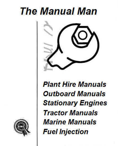 Bedford Buss and Truck engine manuals