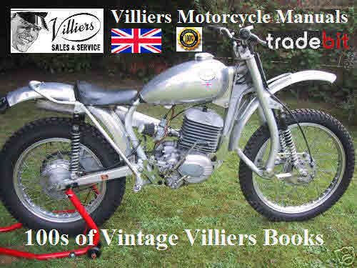 Pay for Villiers workshop 4T SR and SRK 1964 225T-2 engines