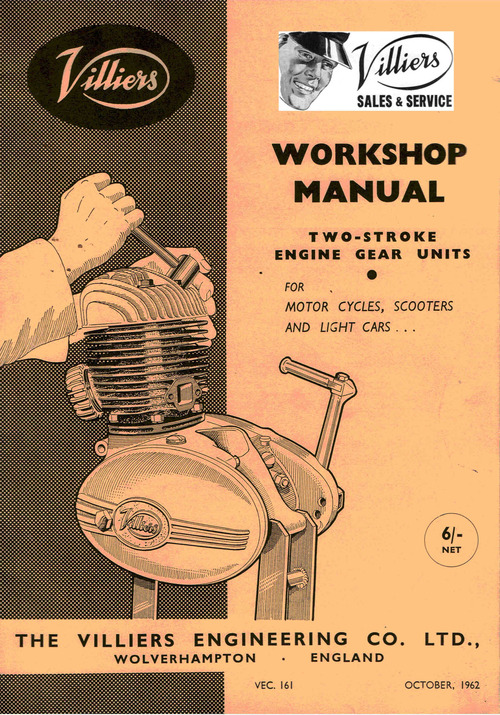 Villiers Workshop Manual 9e  2l  3l 31c  32a  24a