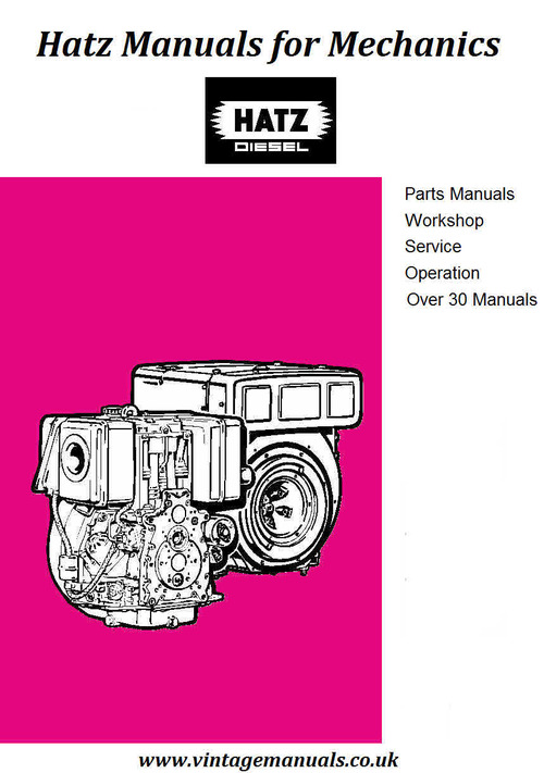 hatz diesel parts manual 1b40 download manuals technical rh tradebit com Hatz Diesel Service Manual hatz diesel 1b20 repair manual