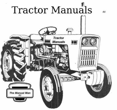 Ford 3000 Tractor Parts Catalog : Tractor manual ford parts download manuals