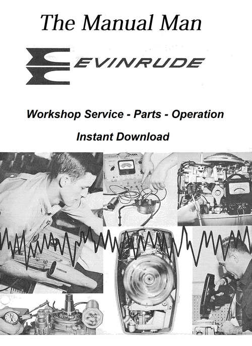 Pay for Evinrude   Johnson Workshop Service Manual 1972 -- 65 Hp