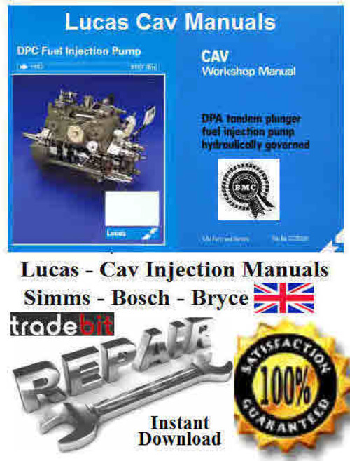 Free Cav Majormec Fuel Pumps Parts Manual 1981Leyland TL - RR 290 Download thumbnail
