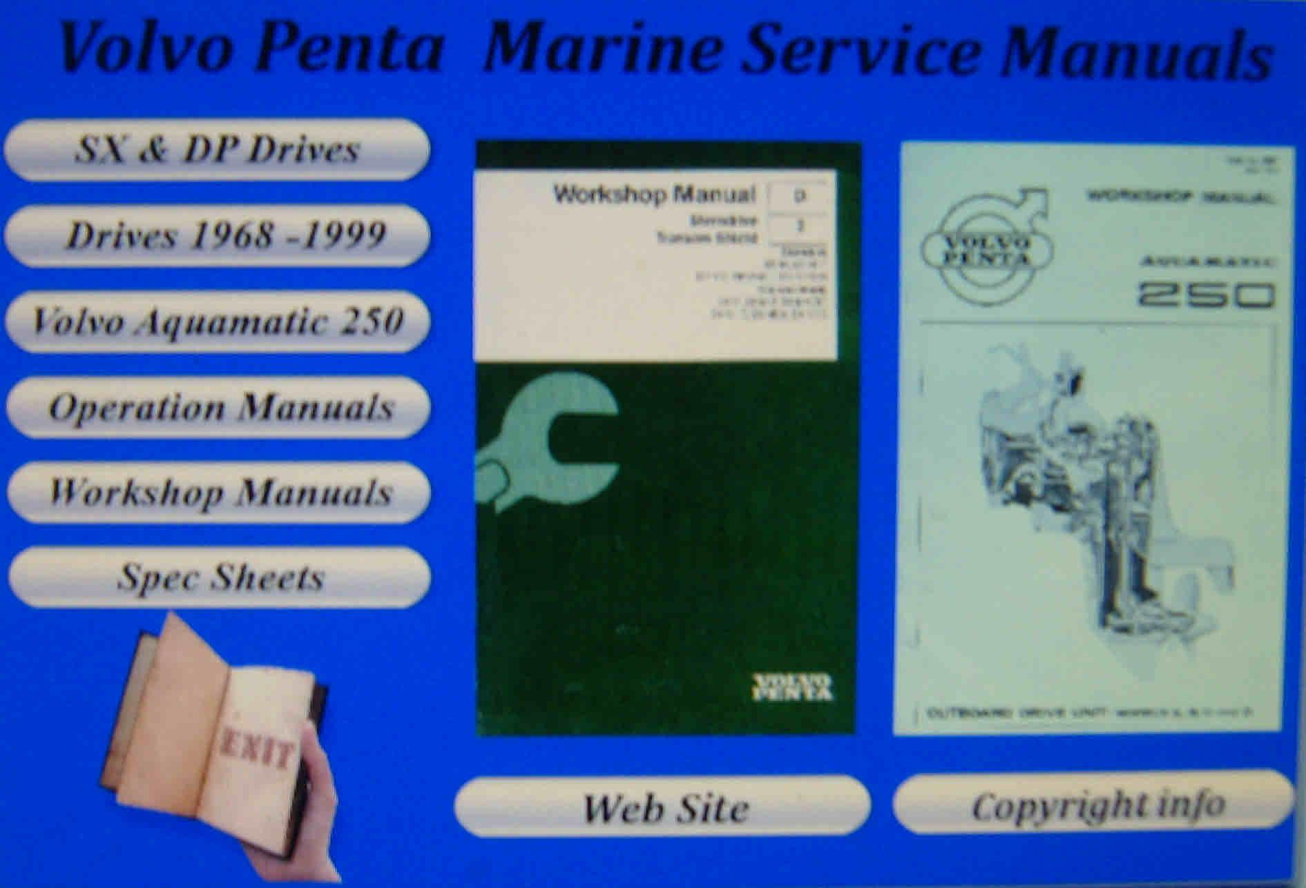 volvo penta tamd41 workshop manual