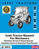 Thumbnail Iseki Tractor Manuals for Mechanics