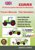 Thumbnail Mans Claas Tractors Overhall and Service Check List manual