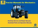 Thumbnail New Holland Rool Belt Bailer Models 664 and 665 Parts manual
