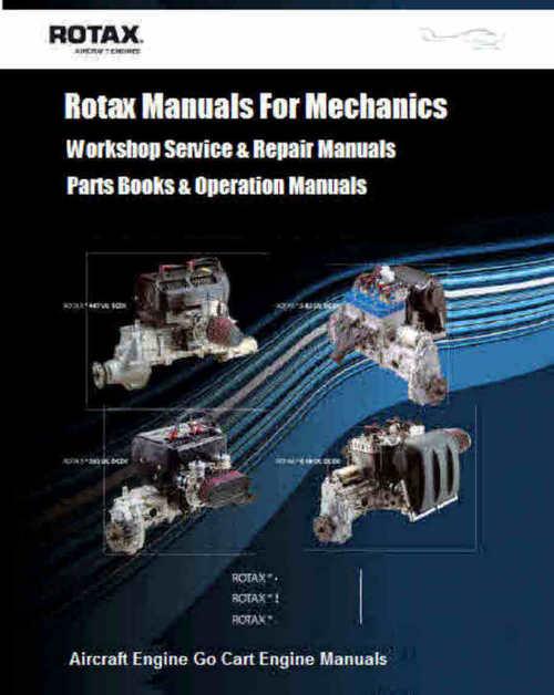 Rotax Aircraft Cart and Motorcycle snowcat manuals for Mecha