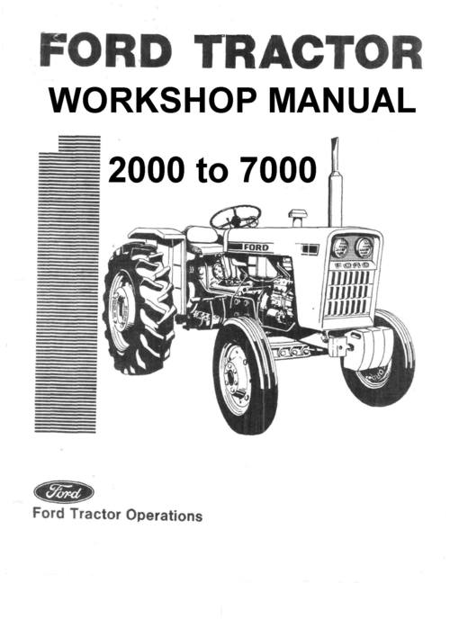 ford 5000 series vintage tractor illustrated parts manual. Black Bedroom Furniture Sets. Home Design Ideas