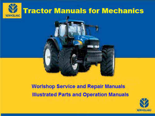 new holland tractor manuals free download