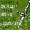 Thumbnail Viral Social Quote Posters & Icons - Silence