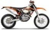 Thumbnail KTM 450 / 500 EXC XC-W service manual repair 2012