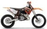 Thumbnail KTM 250 / 300 service manual repair 2004-2010 EXC MXC SX SXS 2-STROKES