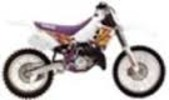 Thumbnail Yamaha YZ125 service manual repair 1995 YZ 125