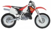 Thumbnail Honda CR250R service manual repair 1997-1999 CR250