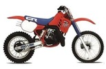 Thumbnail Honda CR250R service manual repair 1985 CR250