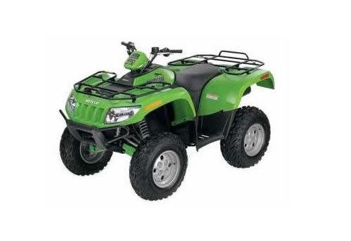 arctic cat 400 500 650 700 utility atv service manual repair rh tradebit com Suzuki ATV Manuals Polaris ATV Owner Manual