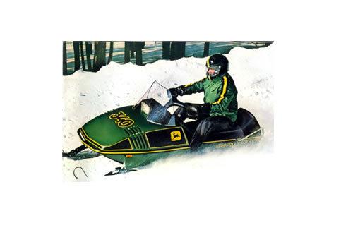 John Deere Cyclone    Liquifire Snowmobile Service Manual