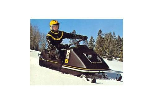 John Deere Snowmobile Service Manual Repair 1972