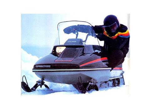 John Deere Snowfire    Sprintfire Snowmobile Service Manual