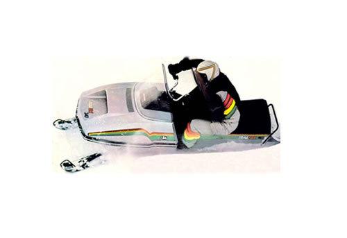 John Deere Trailfire 340 Snowmobile Service Manual Repair