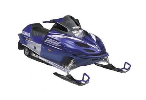 Yamaha Srx700 Snowmobile Service Manual Repair 2000-2002 Srx 700