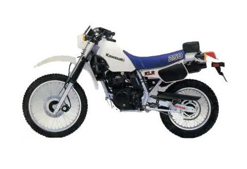Pay for Kawasaki KLR250 service manual repair 1984-2005 KLR 250