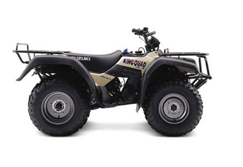 2001 suzuki king quad 300 service manual.
