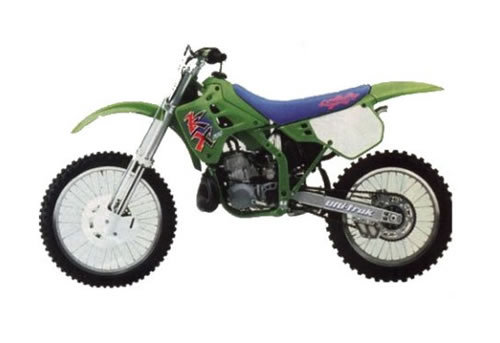 kawasaki kx125 kx250 service manual repair 1990 1991 kx 125 250 rh tradebit com 1987 Kx 125 Craigslist 1981 Kawasaki KX 125