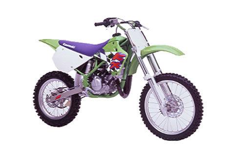 Pay for Kawasaki KX80 / KX100 service manual repair 1991-1997 KX 80 KX 100