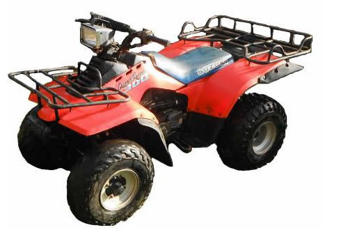 Suzuki Quadrunner  Manual