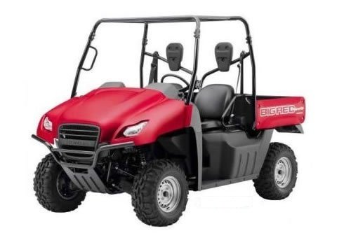 big red 700 service manual repair 2009 2012 muv700 utv download m rh tradebit com Honda Big Red 200ES Specs 1990 Honda Big Red