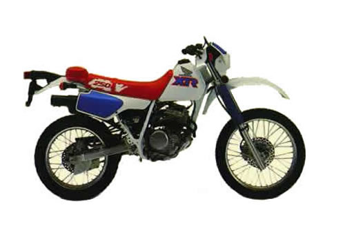 Free Xr200r    Xr250r Service Manual Repair 1984