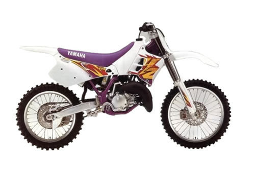 yamaha yz125 service manual repair 1995 yz 125 download. Black Bedroom Furniture Sets. Home Design Ideas