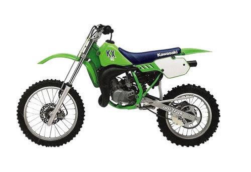 kawasaki kx60 kx80 kdx80 kx100 service manual repair 1988 200 rh tradebit com KX 250 KX 100 Rider Size