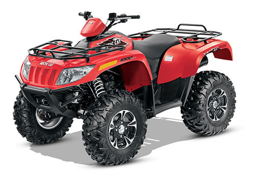 Arctic Cat 500    550    700    1000 Atv Service Manual