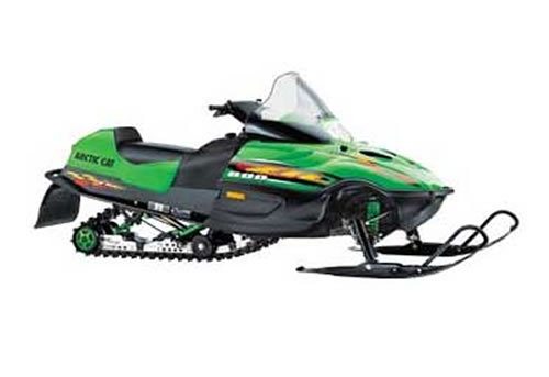 Arctic Cat Snowmobile Service Manual Repair 1999
