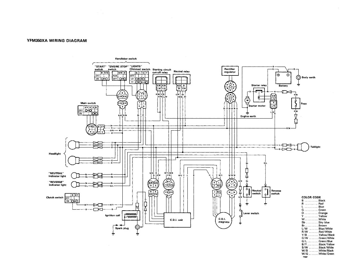 yamaha grizzly 660 schematics  yamaha  free engine image