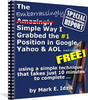 Thumbnail Simple Way I Grabbed a # 1 Ranking Spot On Google, Yahoo and AOL